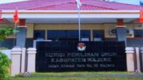 KPU Majene Imbau Hindari Arak-arakan