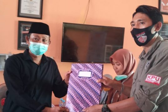 Berkas Tina-Ado Diterima KPU Setelah Perbaikan