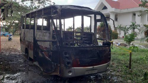 Mobil Pemkab Pasangkayu Terbakar Usai Anak di Bawah Umur Merokok di Bus