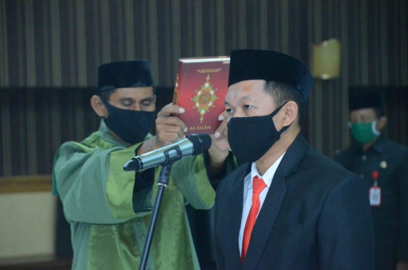 Pesan Gubernur Buat Penjabat Sekda Majene