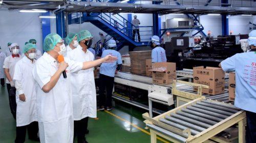 Menperin Pantau Sektor Strategis, Industri Mamin Terus Dipermanis