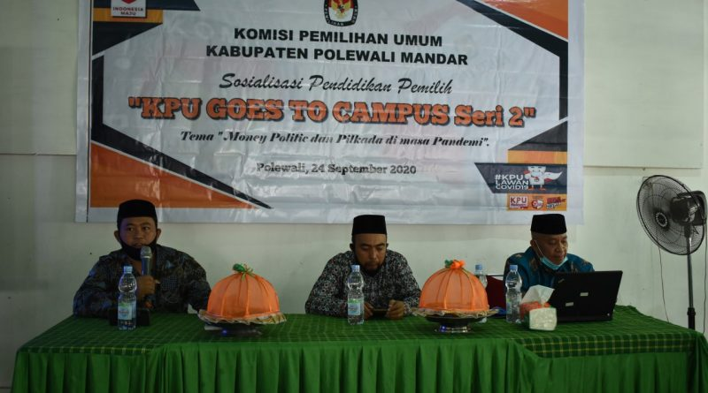 Seri Dua, KPU Polewali Mandar Goes To Campus