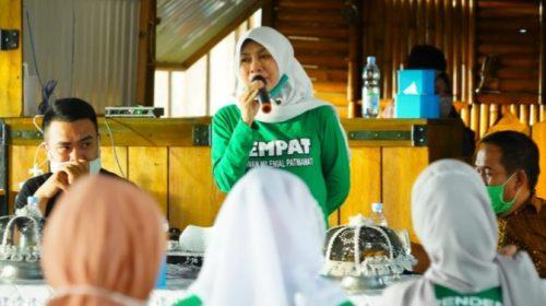 Patmawati Harapkan Komunitas Pemuda Kawal Pemerintahan