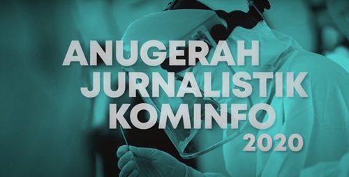 Menkominfo Apresiasi Peran Jurnalis Bangun Narasi Melawan Covid-19