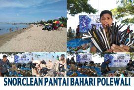 Dibalik Keindahan Pantai Bahari Polewali, Ada yang Tersembunyi di Dasar Laut
