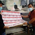 KPU Wajibkan Rapid Test Bagi Petugas Pelipat Surat Suara