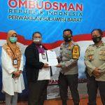 Ombudsman-Polresta Mamuju Bangun Sinergi Layanan Publik Bebas Pungli