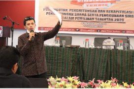 KPU Sulbar Rumuskan Desain Bimtek Adhoc Pemilihan Serentak 2020