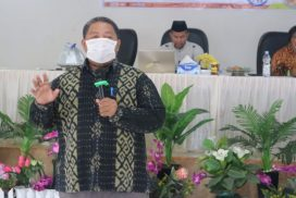 KPU Pasangkayu Hadirkan Ombudsman Sulbar di Sosialisasi Pengawasan