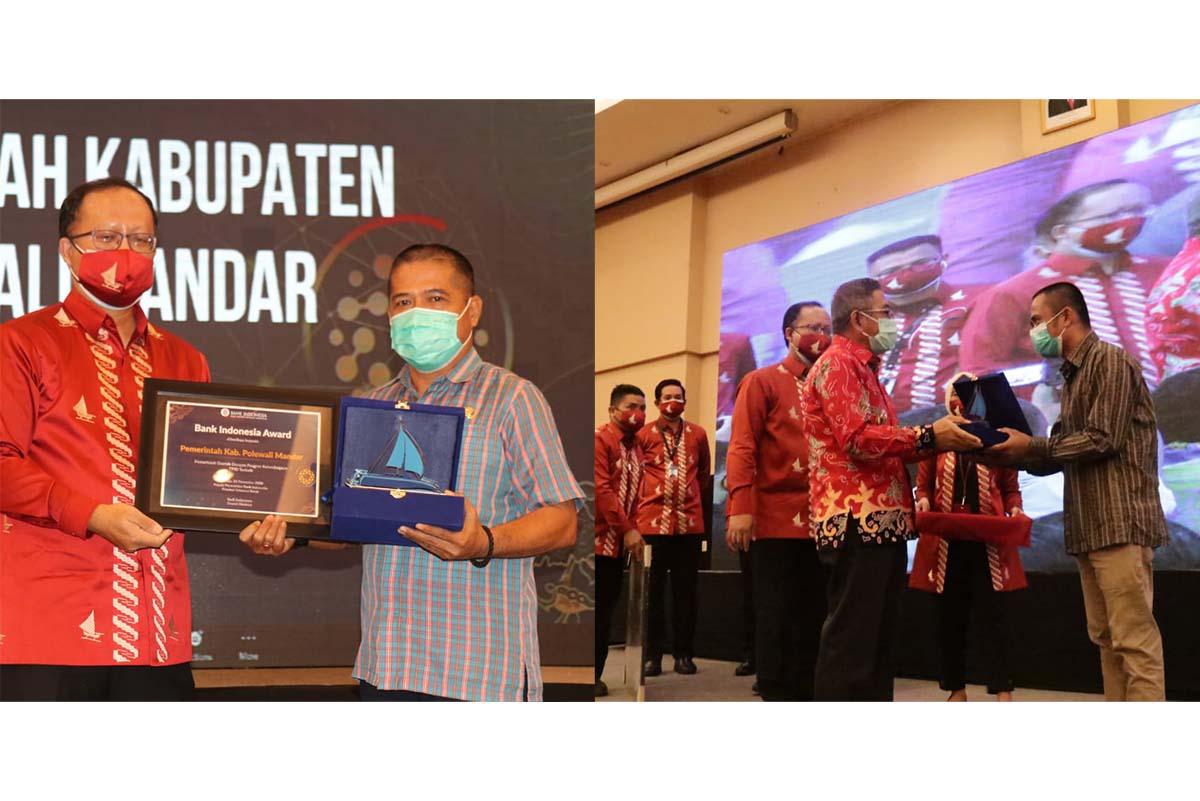 Polman Raih BI Award, Kopi Kurrak Harapan Satu Kompetisi Karya Ekonomi Indonesia Timur