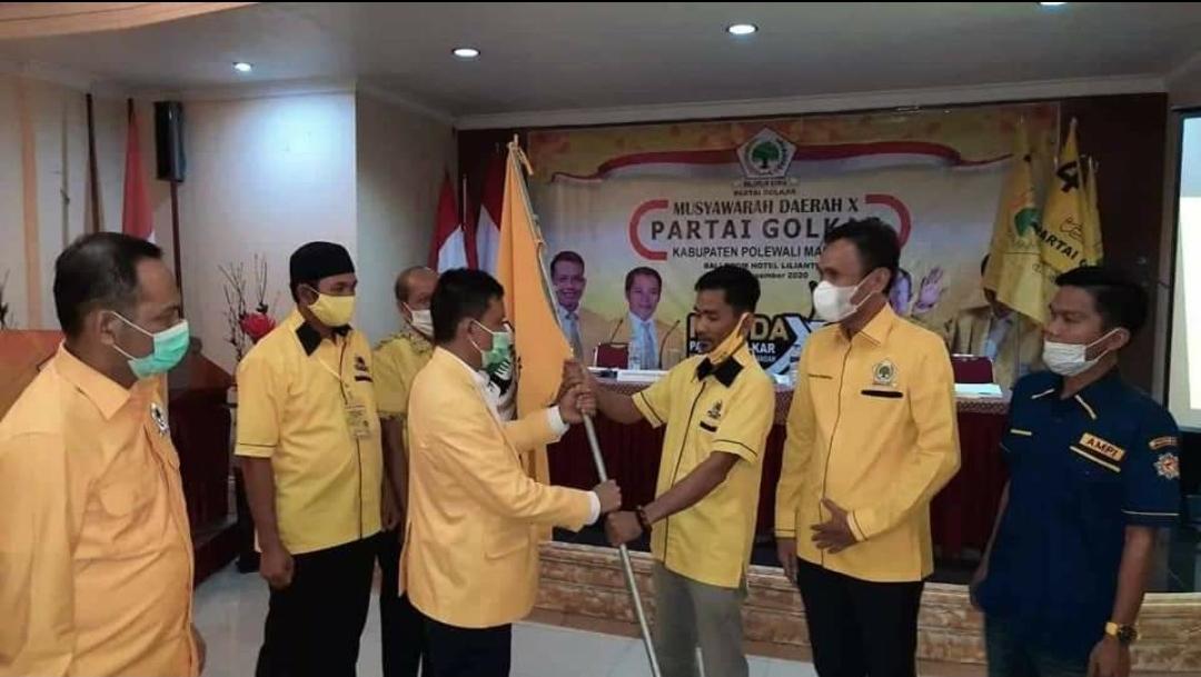 Oppo, Samsul Mahmud Pimpin Golkar Polman