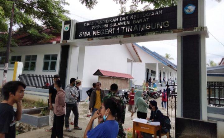 Pengungsi Gempa di Tinambung Berterima Kasih