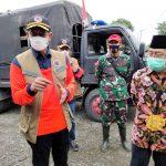 Kepala BNPB Pusat Kunjungi Korban Gempa Malunda