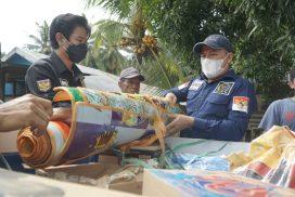 Senator Ajbar dan Andri Singkarru Bawa Bantuan dari DPD RI ke Sulbar