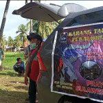 Karang Taruna Pekalobean Enrekang Salurkan Bantuan di Malunda