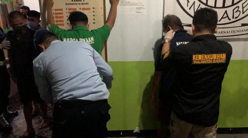 Blok Hunian di Rutan Majene Digeledah Tim Satops Patnal Pas