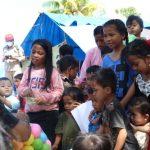 NPC Salurkan Bantuan Donatur ke Anak-anak Korban Gempa