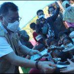 Prof Husain Kunjungi Korban Gempa Malunda