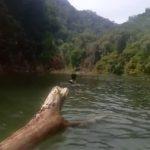 Longsor di Bela Menutup Aliran Sungai Deking