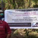 Bantuan Sumur Bor di Mekkatta dari Jamaah Masjid Umar bin Khattab Pekanbaru