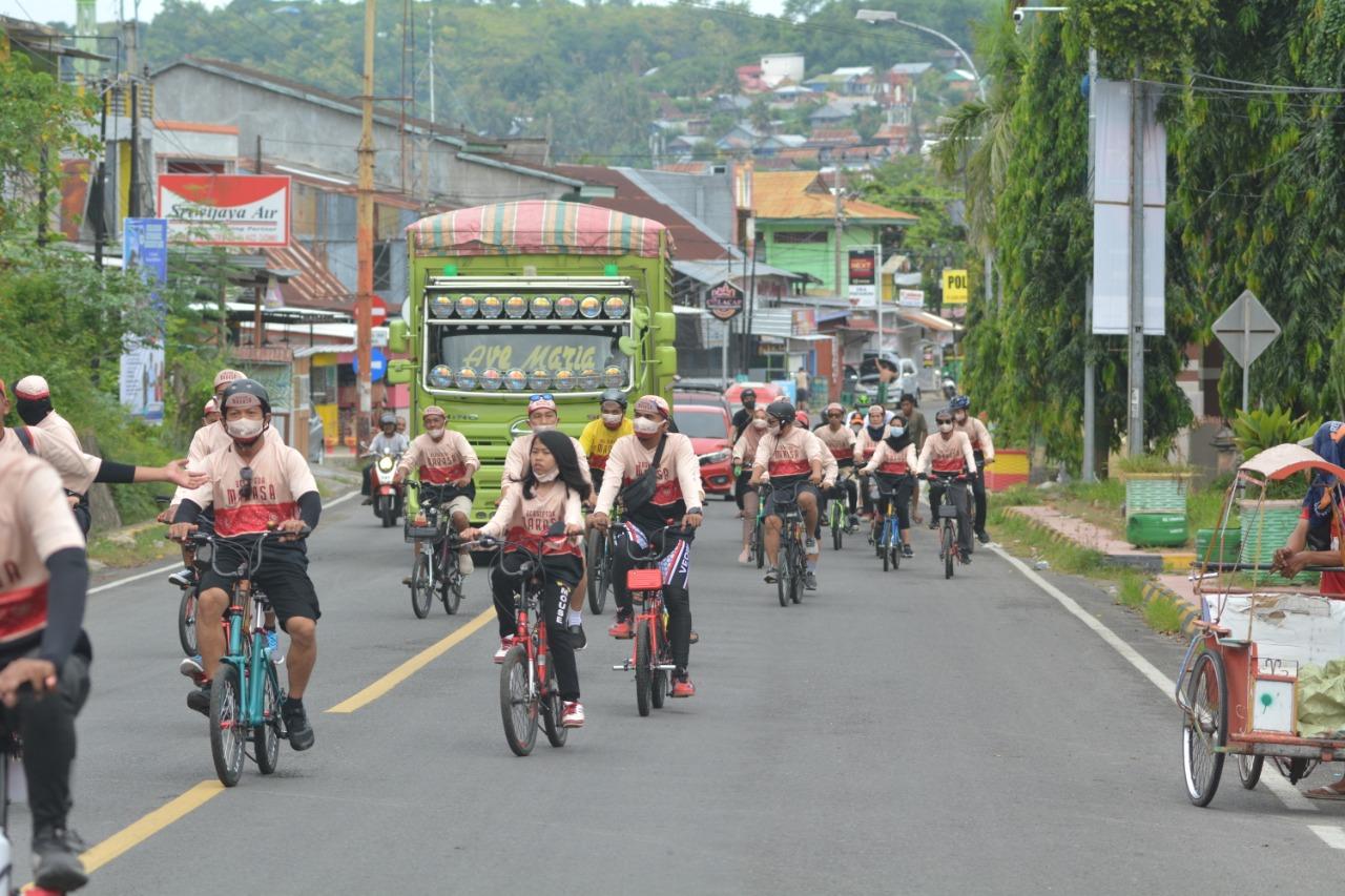 Bersepeda Marasa, Tour de Majene Kota Tua