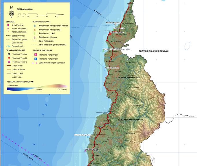 Jalur Laut, Gerbang Segitiga Emas Pariwisata Sulbar (6)