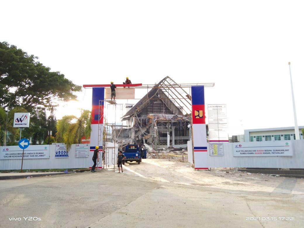 Kantor Gubernur Rencana Dibangun Tiga Lantai