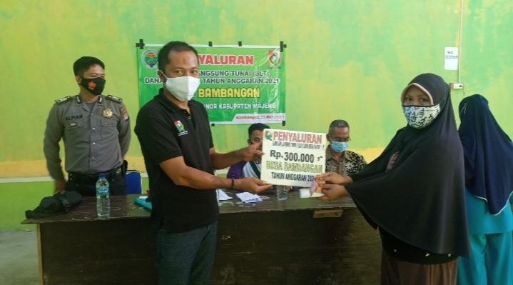 Desa Bambangan Kembali Salurkan BLT DD
