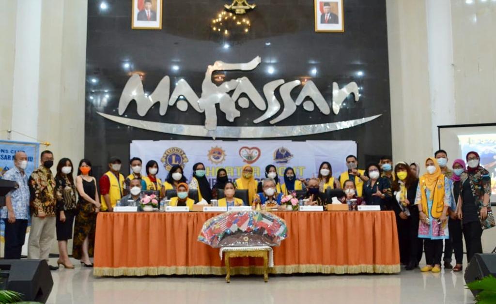 Lions Club Makassar Mamuju Diresmikan