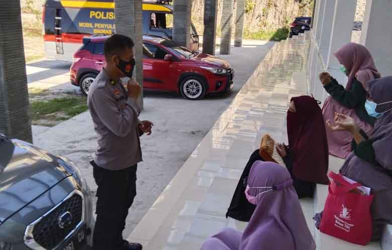 Polres Majene- STAIN Imbau Tetap Disiplin Prokes