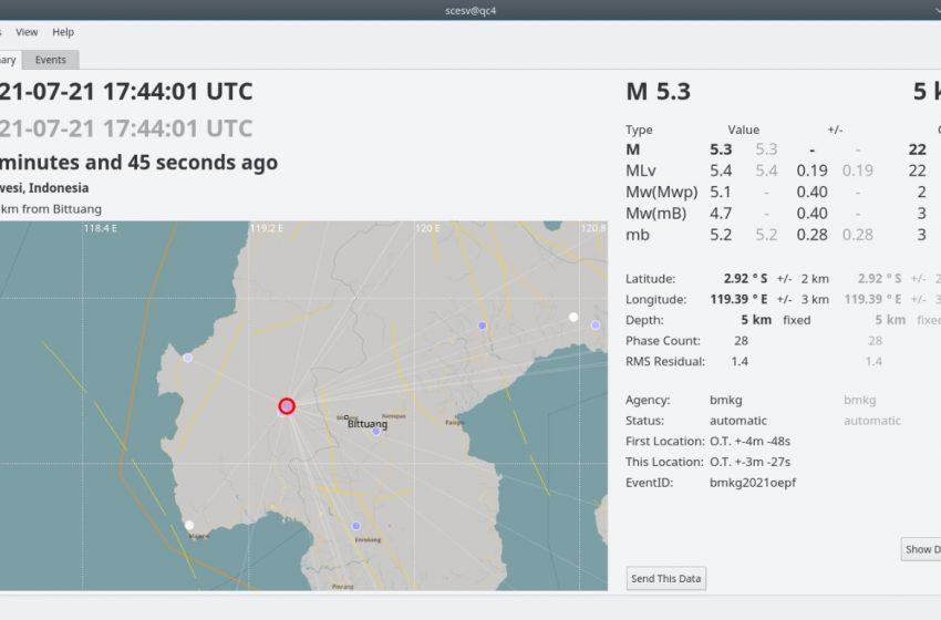 Gempa Magnitudo 5,3 Mamasa, Sesar Saddang Terus Mengguncang