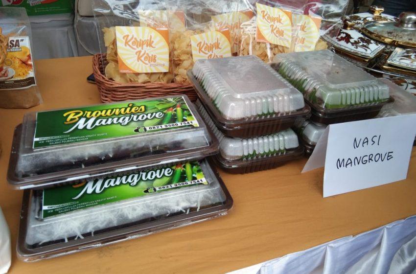 Wow, Ada Brownies Mangrove di Festival Pangan, Penasaran?