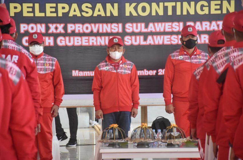 51 Atlet Sulbar Berangkat ke PON Papua