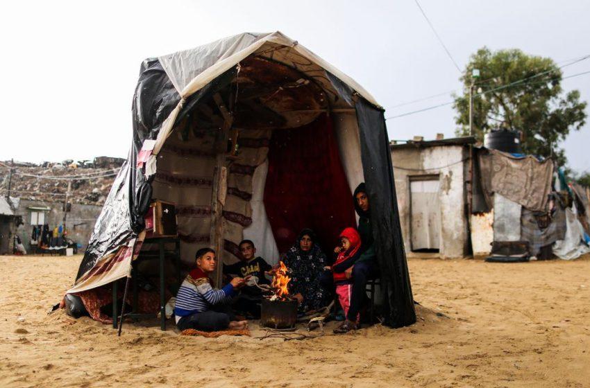 Kamp Pengungsi Palestina Khan Younis