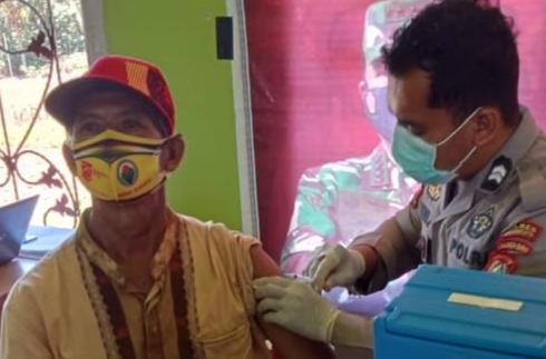 Vaksinasi Grebek Desa Genjot Herd Immunity