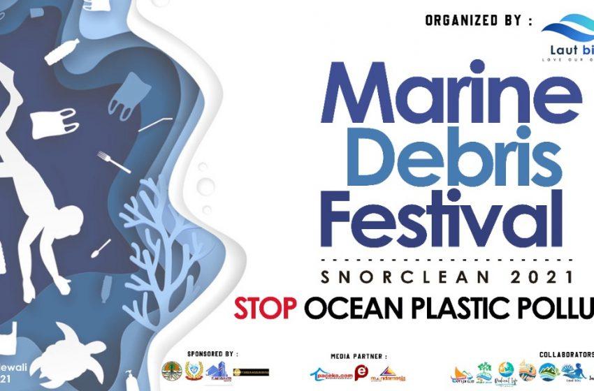 Komunitas Laut Biru Matangkan Persiapan Marine Debris Festival