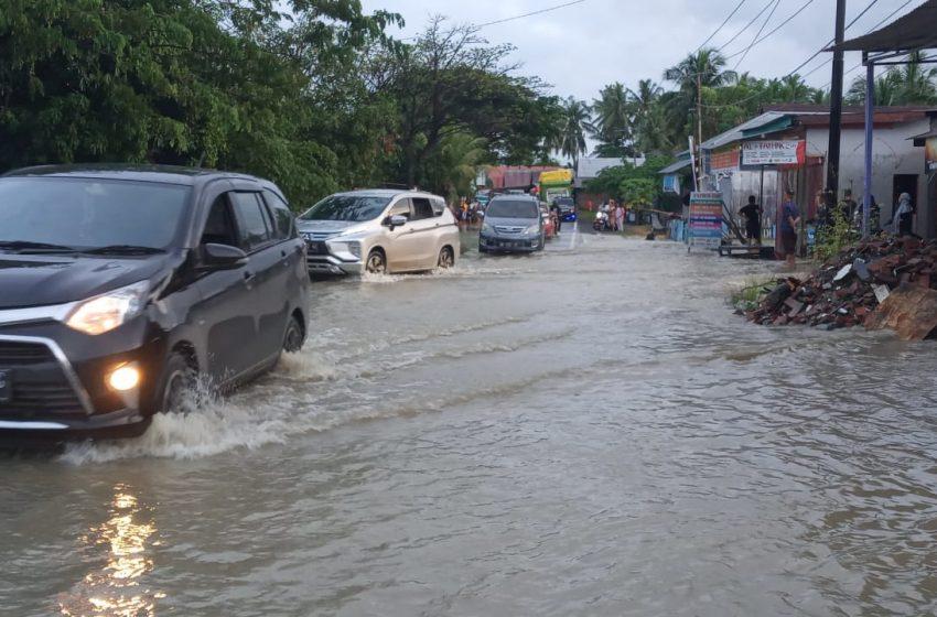 Sejumlah Rumah Warga di Malunda Terendam Banjir