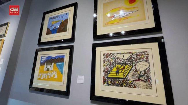 Karya Seni Lukisan Petinju Muhammad Ali Dilelang